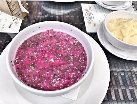 Суп дня (борщ, щи, солянка, уха, харчо, окрошка)