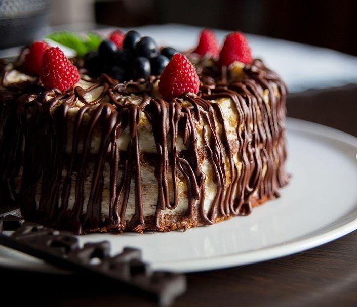 Торт «Папараць»