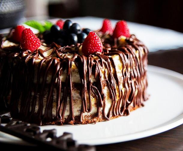 "Торт ""Папараць"""